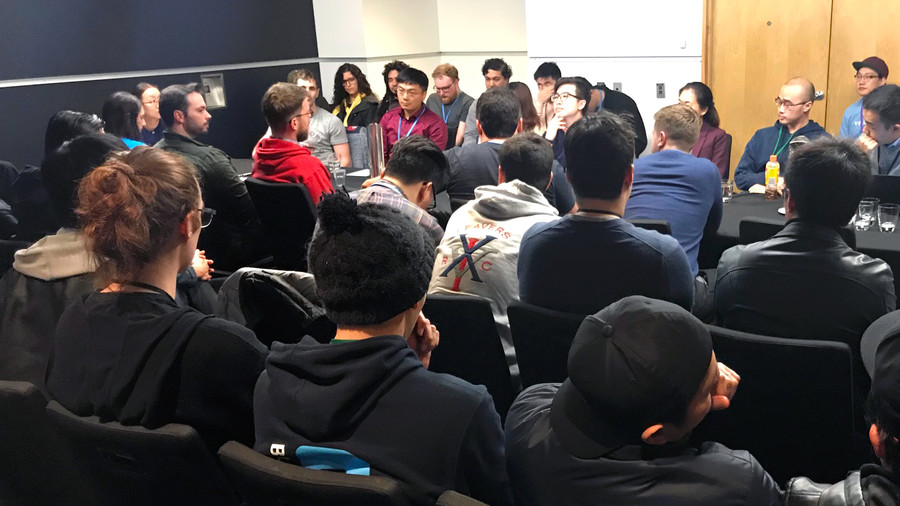 Roundtable event with participants from the China & New Zealand gaming industry